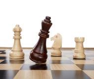 szachowej gry kawałki obrazy stock