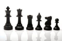 szachowi kawałki Obraz Stock