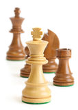szachowi kawałki Obrazy Stock