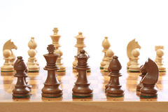 szachowi kawałki Fotografia Stock