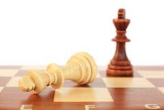 szachowi kawałki Zdjęcia Stock