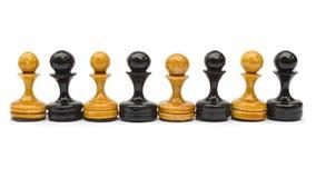 szachowi pionkowie Zdjęcia Royalty Free