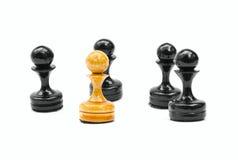 szachowi pionkowie Obraz Stock