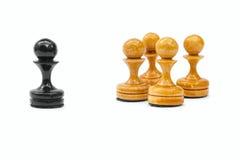 szachowi pionkowie Zdjęcie Royalty Free