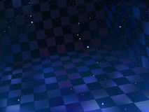 szachownica przestrzeni ilustracja wektor