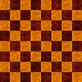 szachownicy podłoga wykładający deseniowy bezszwowy drewno Zdjęcia Royalty Free