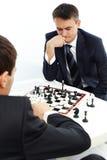 szachowy bawić się Obrazy Royalty Free