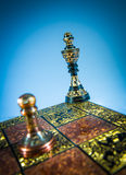 Szachowy checkmate Obraz Royalty Free