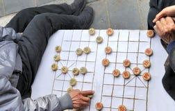 szachowy chiński xiangqi Zdjęcia Stock