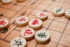 szachowy chińczyk Zdjęcia Royalty Free