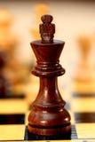 szachowy królewiątko Zdjęcia Royalty Free