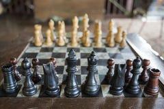 szachowy królewiątka królowej set Zdjęcia Royalty Free