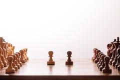 szachowy królewiątka królowej set Obraz Stock