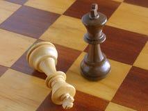 szachowy nokaut Zdjęcia Stock