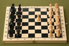 szachowy otwarcie Zdjęcie Royalty Free