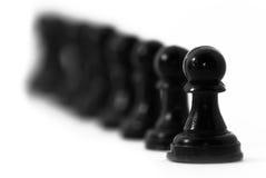 szachowy przywódctwo Fotografia Royalty Free
