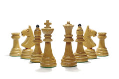szachowy set Fotografia Royalty Free