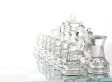 szachowy szkło Zdjęcia Royalty Free