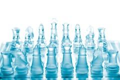 szachowy szkło Obrazy Stock