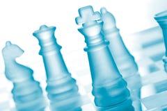 szachowy szkło Zdjęcie Stock