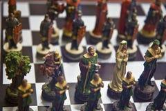 szachowy włoski set Zdjęcia Stock