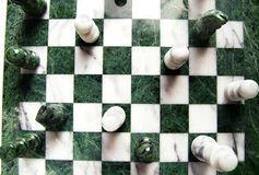 szachowy widok Zdjęcie Stock