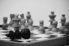 szachy Obrazy Royalty Free