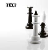 szachy cztery Obraz Stock