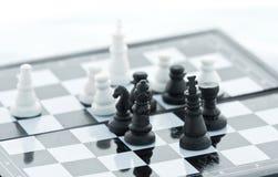 szachy dopasowanie Fotografia Stock