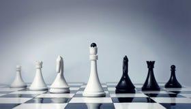szachy drużyna Zdjęcia Royalty Free
