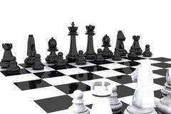 szachy dzień Zdjęcie Stock