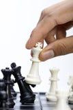 szachy grać Zdjęcia Royalty Free