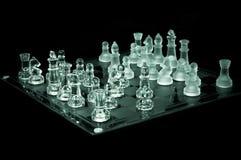 szachy narożnikowy krystaliczny władzy widok obrazy stock