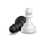 szachy pionek Zdjęcia Royalty Free
