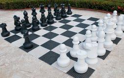 szachy plenerowy zdjęcia royalty free