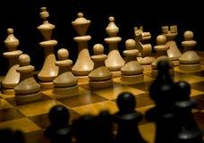 szachy zarządu Fotografia Stock