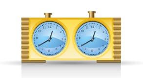 szachy zegar Fotografia Stock