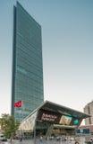 Szafirowy budynek w Istanbuł Zdjęcia Stock