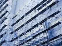 Szafotu i stali budowy plac budowy Obraz Royalty Free
