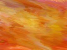Szafranowy farby tekstury tło Fotografia Royalty Free