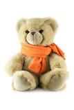 szal teddy bear Zdjęcie Stock
