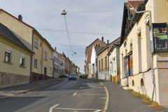 Free Szalaszto Street In Keszthely, Hungary. Royalty Free Stock Photo - 88526695