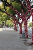 szaleni drzewa Obrazy Stock