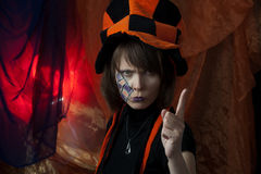 szalenie gniewny hatter Fotografia Stock