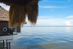 Szalet nad morze Zdjęcia Royalty Free