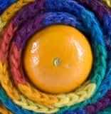 szalik pomarańczowy szalik Obrazy Stock