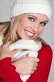 szalika zima kobieta Zdjęcie Stock
