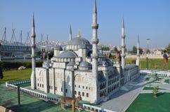 Szalkowy model sułtanu Ahmed meczet Fotografia Stock