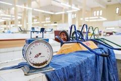 Szalkowy targowy Oman Zdjęcie Stock