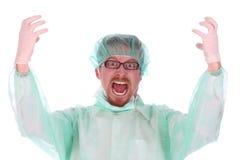 szalony chirurg obraz royalty free